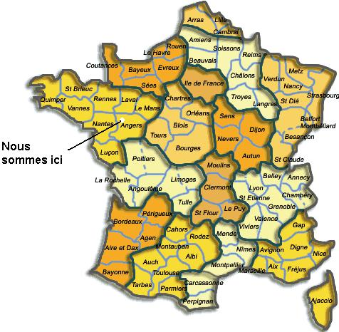 angers localisation france